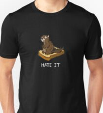 Hate It, Marmot on Toast (white text variant) T-Shirt