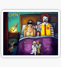 Fast Food Nightmare Sticker