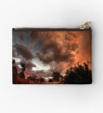 turning nasty at sunset Studio Pouch