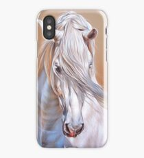 """""""Andalusian stallion"""" - close-up iPhone Case"""