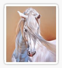 """Andalusian stallion"" - close-up Sticker"