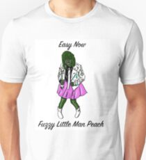 Easy Now Fuzzy Little Man Peach - Old Gregg Unisex T-Shirt