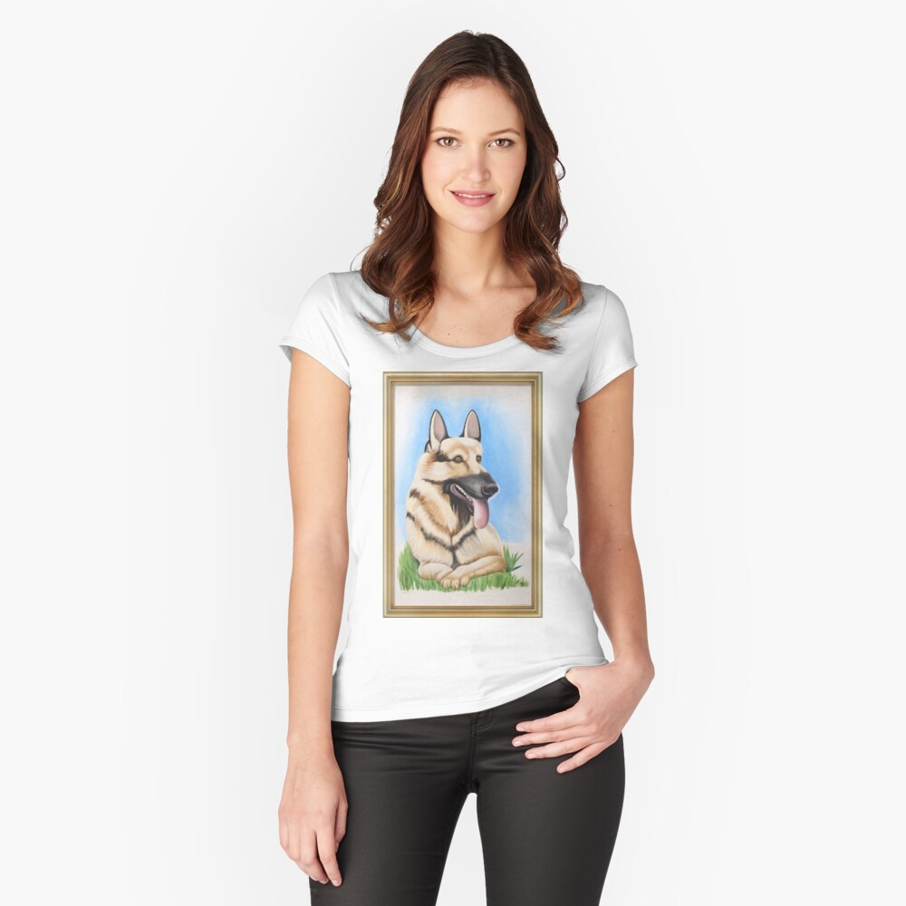 Smug Women's Fitted Scoop T-Shirt Front