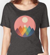 Rainbow Peak Women's Relaxed Fit T-Shirt