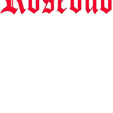 Citizen Kane - Rosebud  by movie-shirts