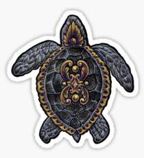 Ornamental Turtle Sticker