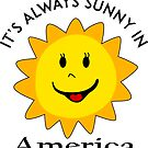 SUNSHINE SMILEY AMERICA FACE CUTE SMILE POPULAR STICKERS TOP DECAL SUN by MyHandmadeSigns