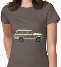 Jeep Wagoneer Women's Fitted T-Shirt