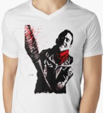 Negan Men's V-Neck T-Shirt