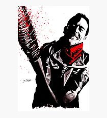 Negan Photographic Print