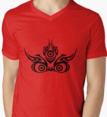 Mahakala (clear colors) Men's V-Neck T-Shirt