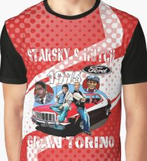 Starsky & Hutch Gran Torino 1975 Graphic T-Shirt