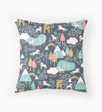 Unicorn Love Throw Pillow
