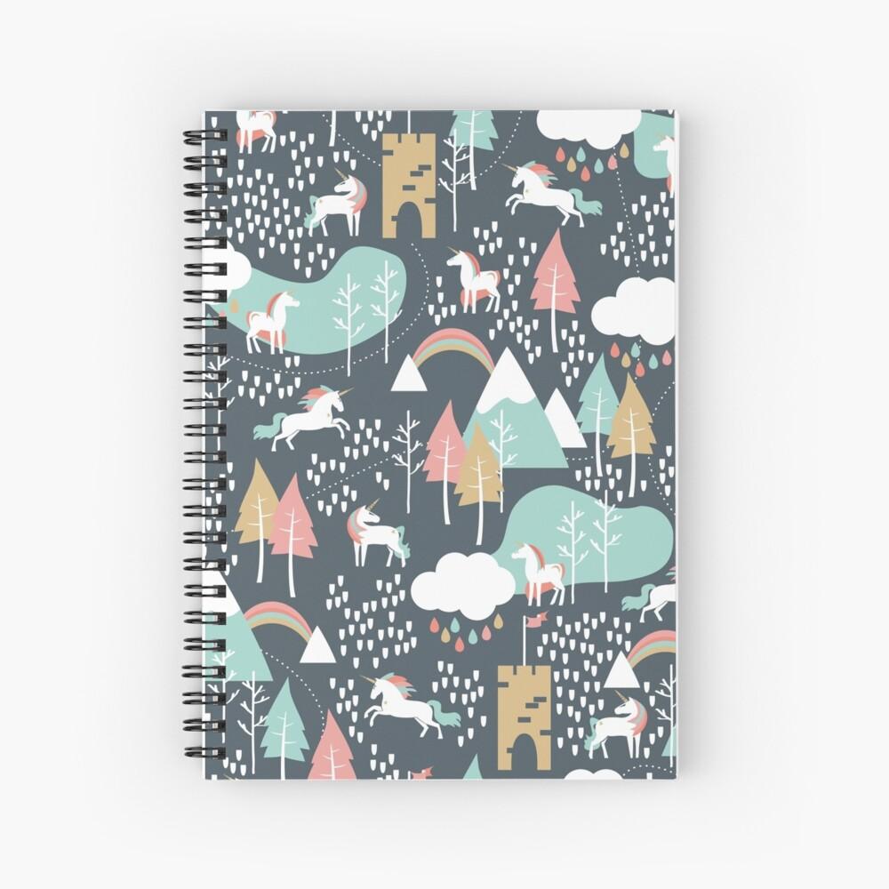 Unicorn Love Spiral Notebook