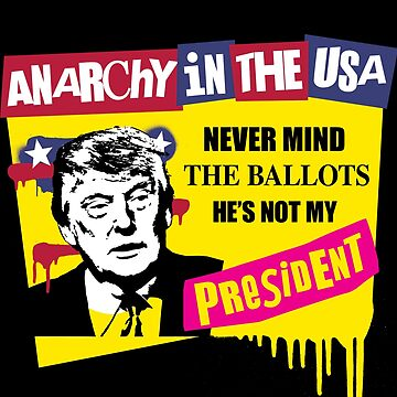Not My President - Anarchy by f22design