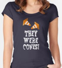 The Wedding Singer Quote - They Were Cones! Women's Fitted Scoop T-Shirt