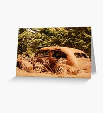 """Out To Pasture"" Greeting Card"