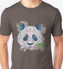 Ethnic Highly Detailed Panda Unisex T-Shirt