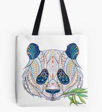 Ethnic Highly Detailed Panda Tote Bag