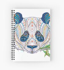 Ethnic Highly Detailed Panda Spiral Notebook