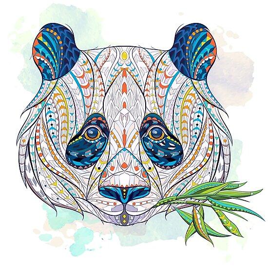 Ethnic Highly Detailed Panda by maverickinfanta