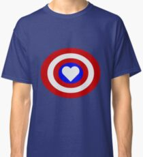 Heart of a Hero - The Captain Classic T-Shirt