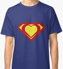 Heart of a Hero - Super Classic T-Shirt