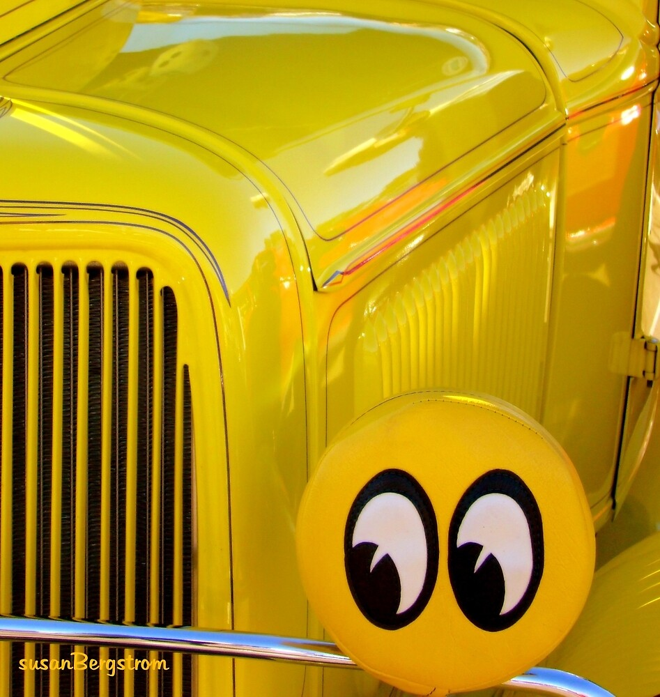 Classic Car Abstract by Susan McKenzie Bergstrom