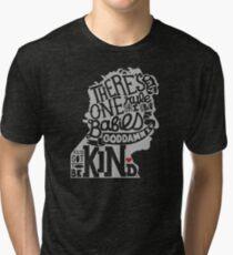 Kurt Vonnegut- You've Got to Be Kind Tri-blend T-Shirt