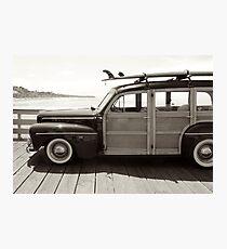 classic woodie Photographic Print