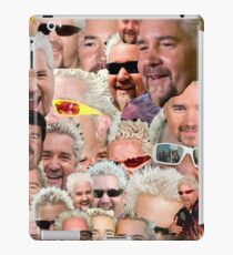 Fieri mashup iPad Case/Skin