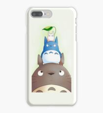 Totoro with his friends iPhone 7 Plus Case