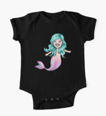 Gracie Mermaid One Piece - Short Sleeve