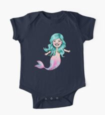 Gracie Mermaid One Piece - Short Sleeve