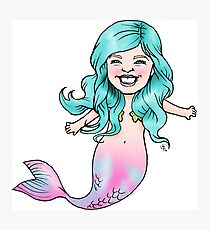 Gracie Mermaid Photographic Print