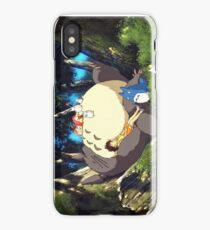 Sleeping Totoro iPhone Case