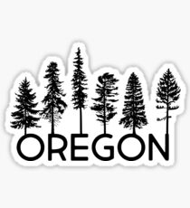 My Heart Belongs in Oregon Sticker