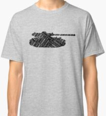 Military Tank Commander Army Phonetic Alphabet Design Classic T-Shirt