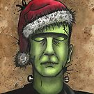Frankenstein's Monster Christmas by Victoria Thorpe