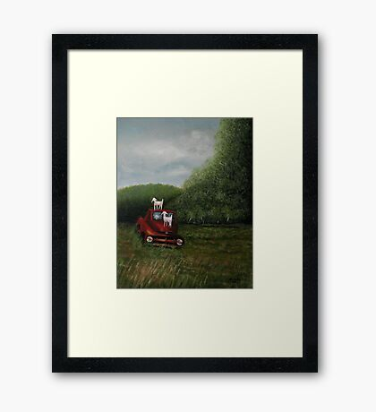 """Playtime""... prints and products  Framed Print"