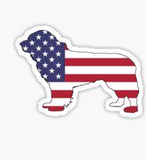 American Flag – Newfoundland Sticker