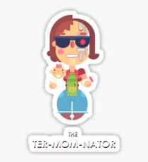 TER-MOM-NATED! Sticker