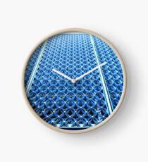 Blue Circles Clock