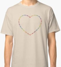 Rainbow Safety Pins Classic T-Shirt