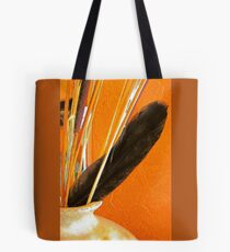 Pottery, Sticks and Feather Tote Bag