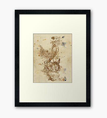 the golden key Framed Print