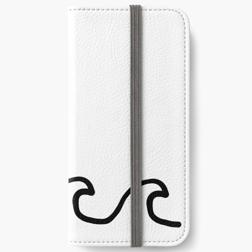 Waves iPhone Wallet
