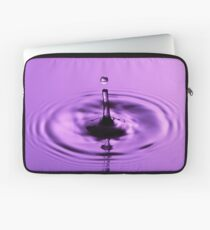 Violet Drop Laptop Sleeve