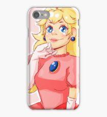 a peach iPhone Case/Skin