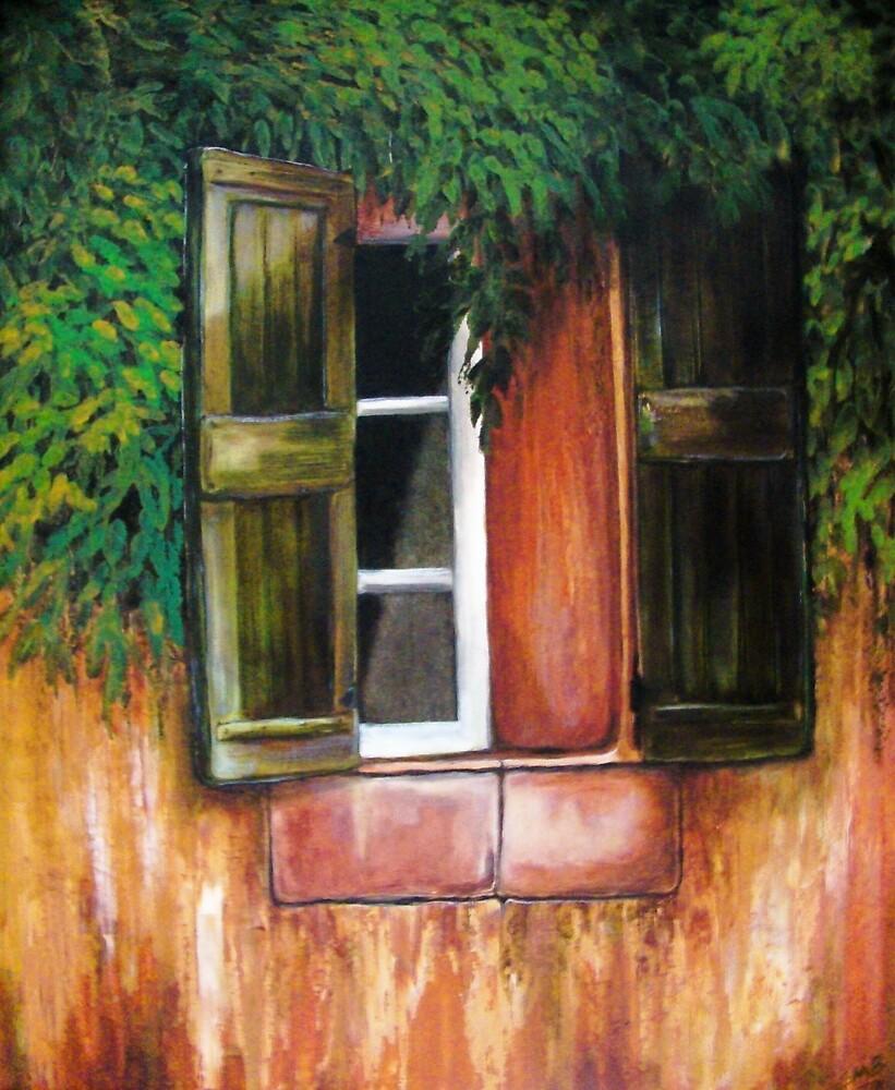 Southwest Window by Susan McKenzie Bergstrom